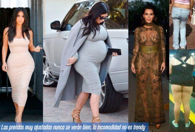 7 prendas no fashionistas ropa ajustada