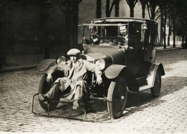 asiento de enfrente auto vintage objetos bizarros
