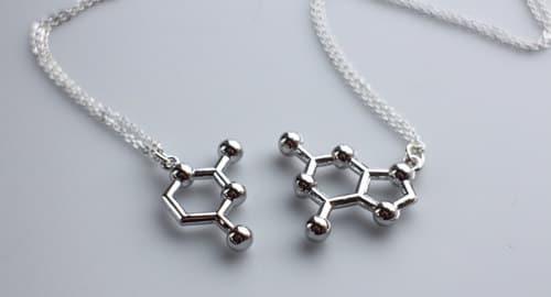 enlace químico collares Mejores amigas