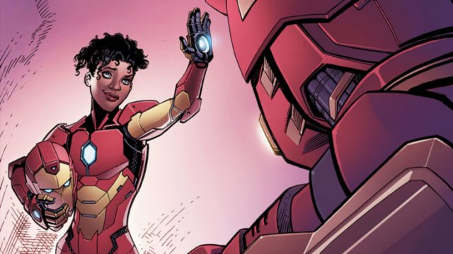 Iron Man mujer