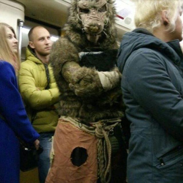 Metro rusia lobo