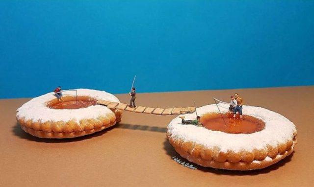 tartaleta postre miniatura italiano