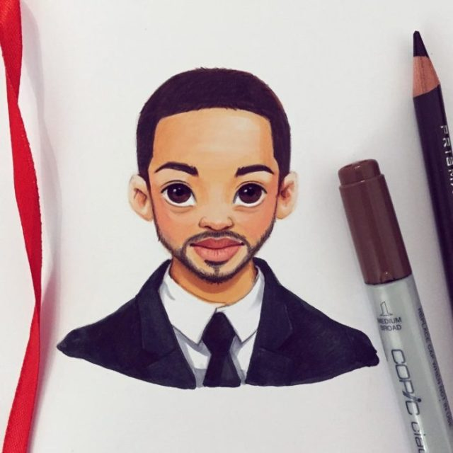 caricaturas rusas will smith