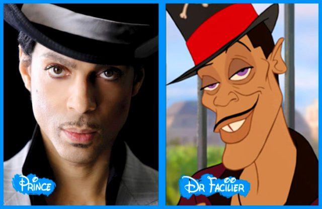 prince y el Dr. facilier
