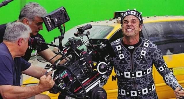 efectos para la película de hulk