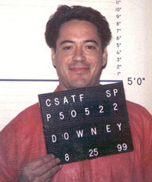 presos conocidos robert downey