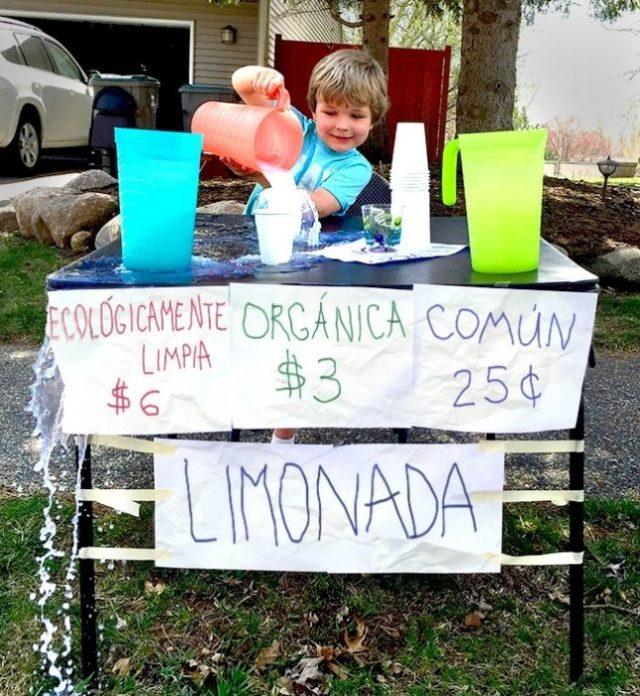 cosas de pequeños - limonada organica