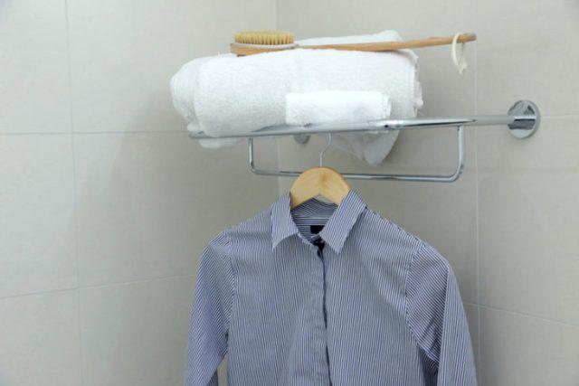 vapor de baño para planchar