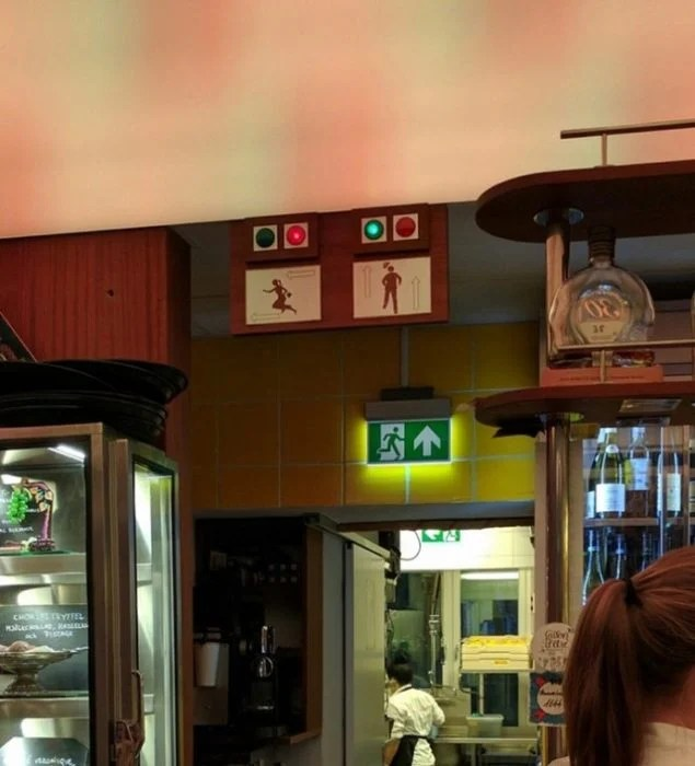 luces de ñaos que indican si están ocupados