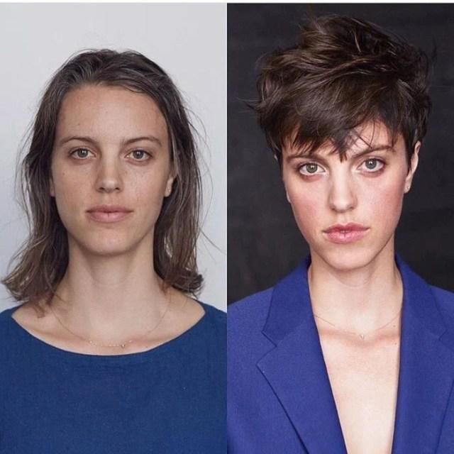 cabello rebelde cambio de look chavala pelo cortometraje antes y después