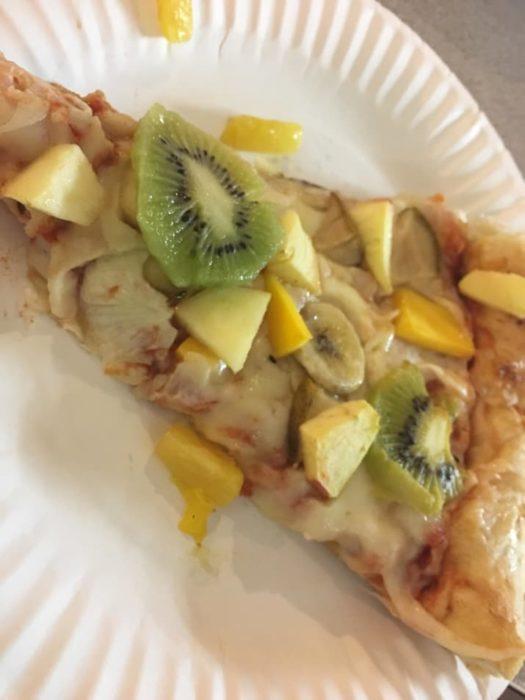 pizza de kiwi