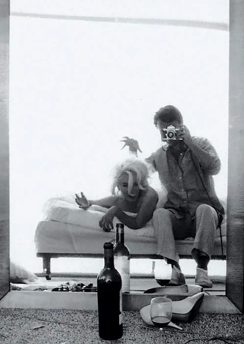 selfie de marilyn monroe 1962
