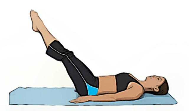 elevación de piernas