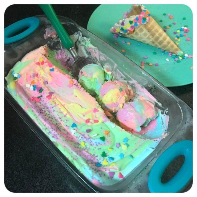 helado sabor unicornio
