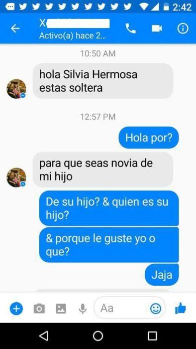 Inbox mamá le búsqueda novio a su hijo