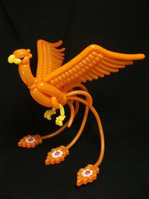 dragón de globos