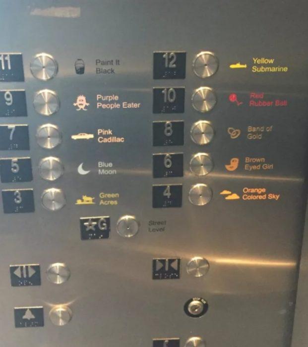 nombres apartamentos elevador