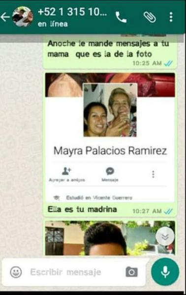 Chantaje WhatsApp - ésta es tu madrina