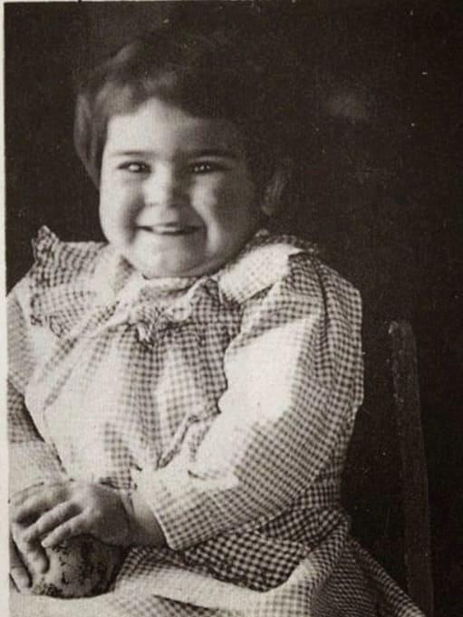 Frida Kahlo de bebé
