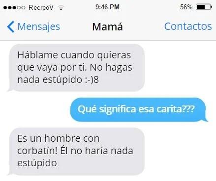Mensajes graciosos mamá - no hags nada estúpido