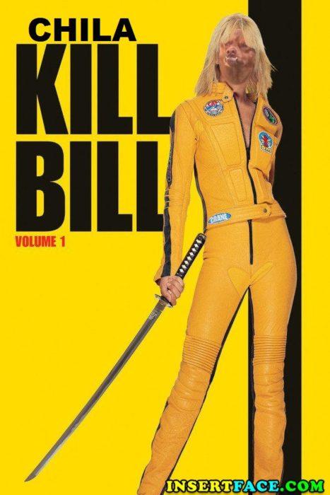 Poster de Kill Bill con chilaquil