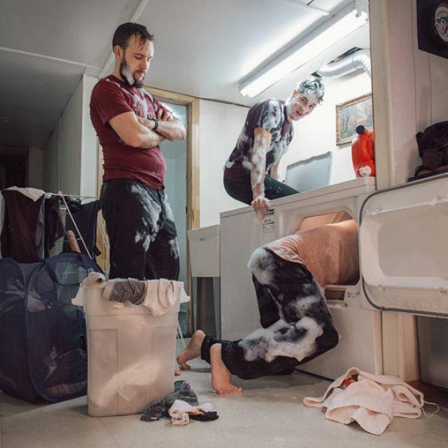 lavandería desafío consolador
