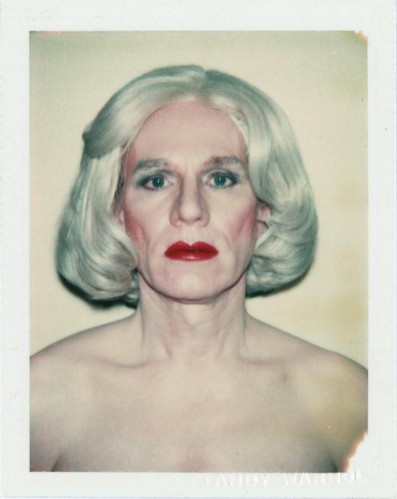 Autoretrato de Andy Warhol