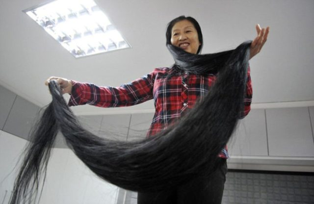 Salir a caminar cargando el cabello