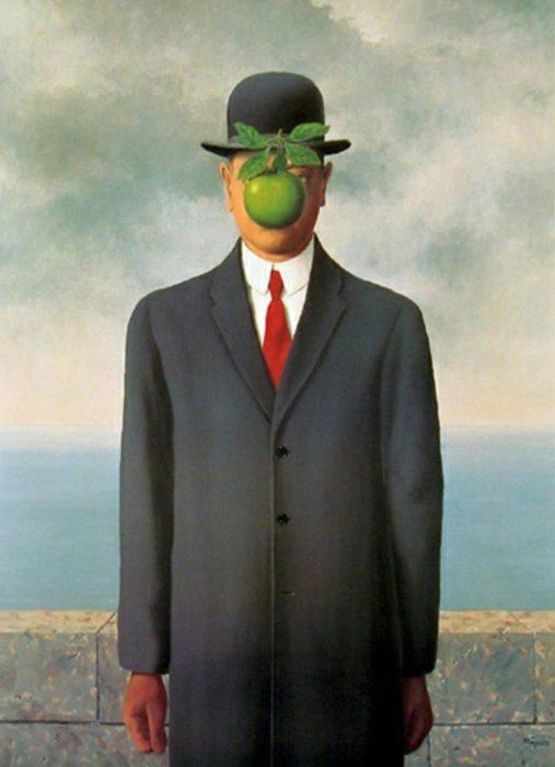 hijo del hombre pintura René Magritte