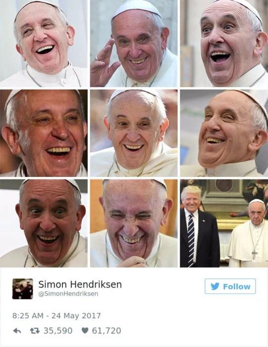 memes papa trump 2