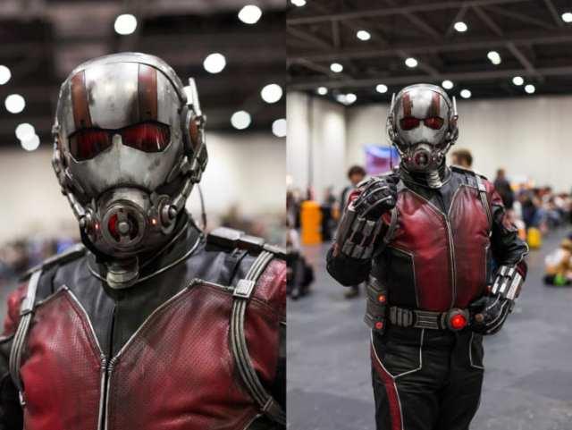 hombre hormiga disfraz cosplay