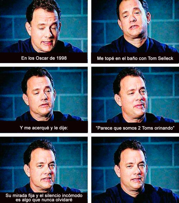 Historia Tom Hanks y Tom Selleck