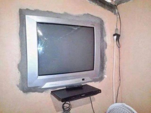 televisión centro de entretenimiento pantalla plana