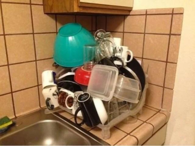 Platos lavados