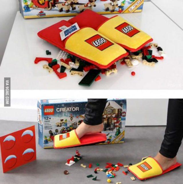 pantuflas anti legos