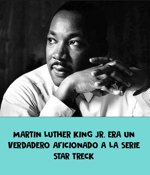 star treck martin luther king