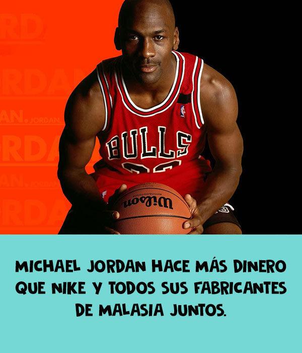 michael jordan nike dinero