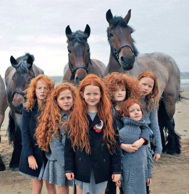 pelirojas irlandesas