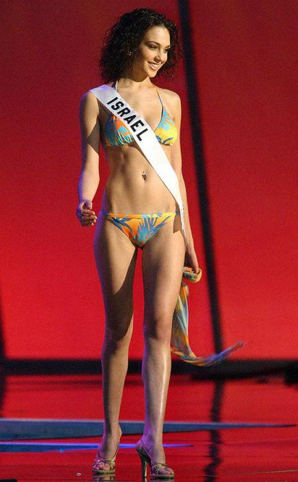 Gal Gadot concurso Miss Universo