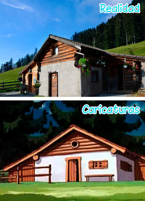 Cabaña de Heidi