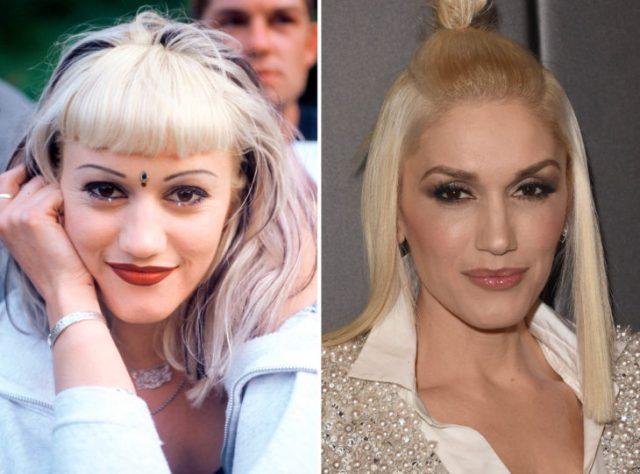 cejas antes y ahora