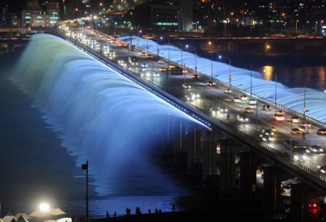 Fuente Banpo en Corea del Sur