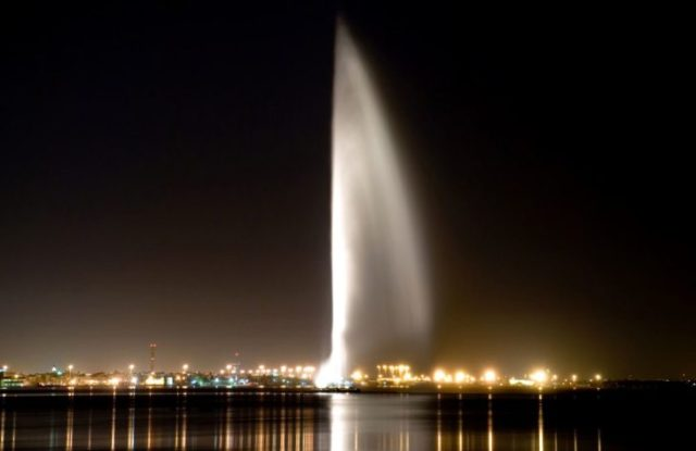 La fuente más alta del planeta situada en Arabia Saudita