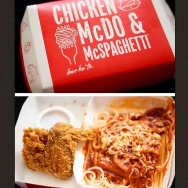 McSpaghetti Espagueti en McDonalds