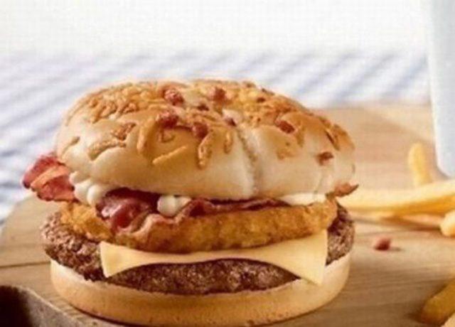 Hamburguesa Cordon Bleu de McDonalds