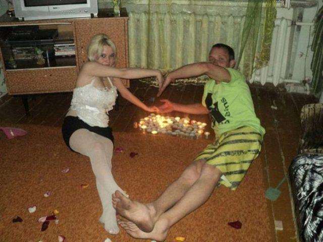 velas romanticas corazón amor ruso