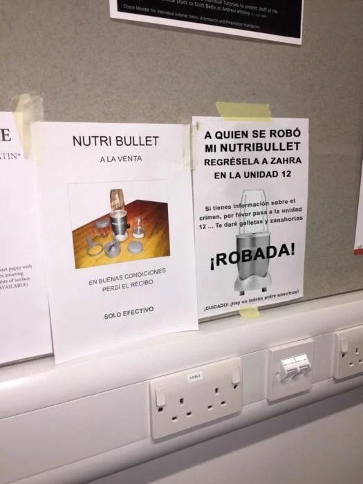 NutriBullet robada
