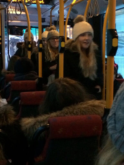 Chicas autobús