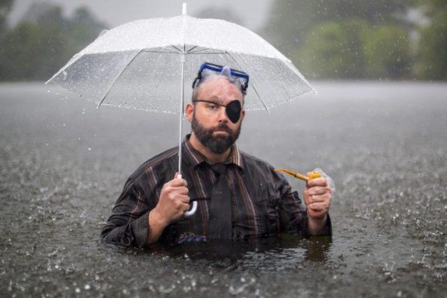 lluvia pirata contienda de photoshop
