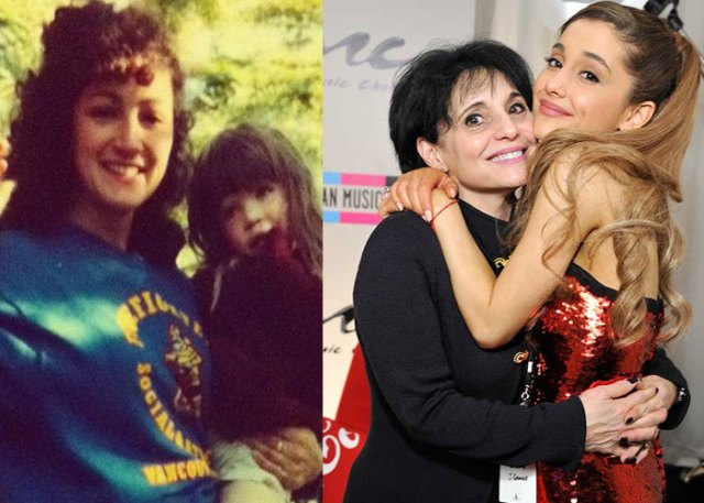 Ariana grande mamá